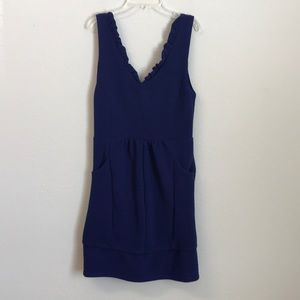 Mauve Anthropologie dress Medium Blue